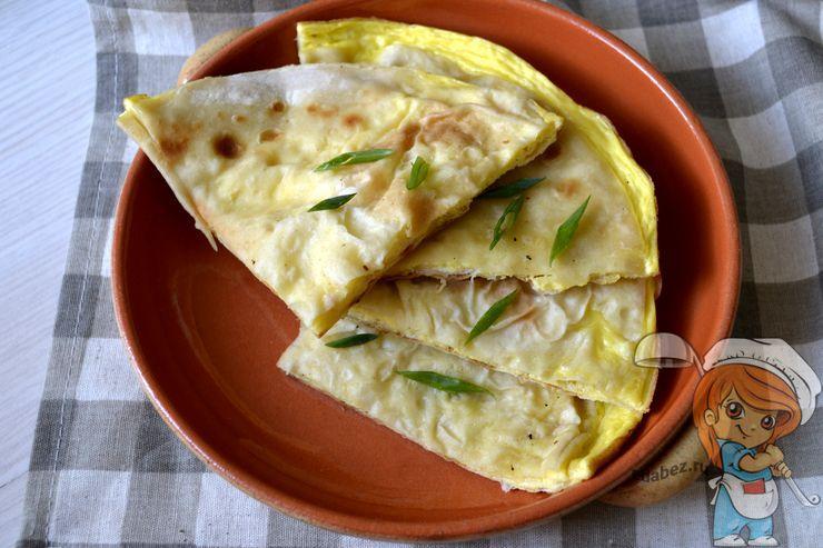 Омлет в лаваша - рецепт с фото