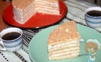 Баварский яблочный торт, рецепт с фото