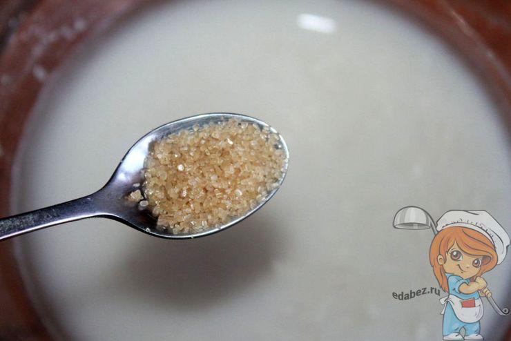 Немного тростникового сахара