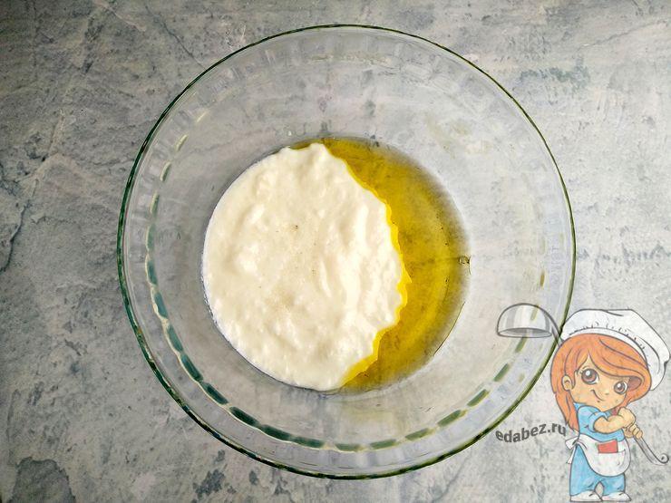 Йогрут с маслом