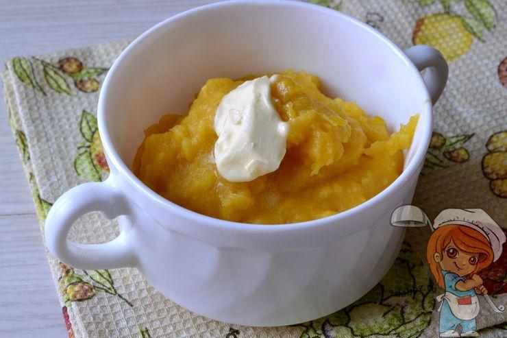 Кукурузная каша на завтрак - рецепт с фото