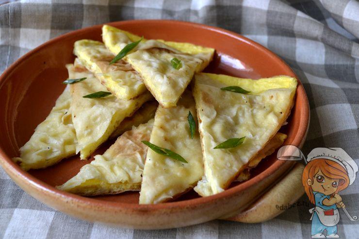 Сырная лепешка - рецепт с фото