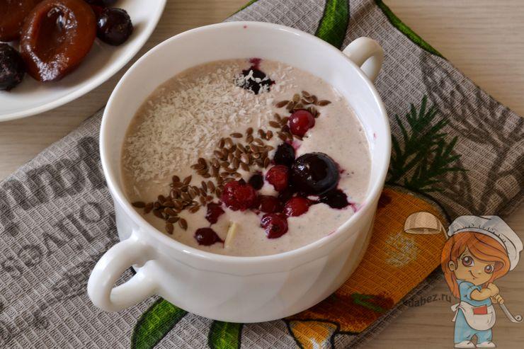 ПП завтрак из творога для похудения