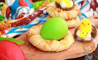 Пасхальное гнездо, пошаговый рецепт с фото