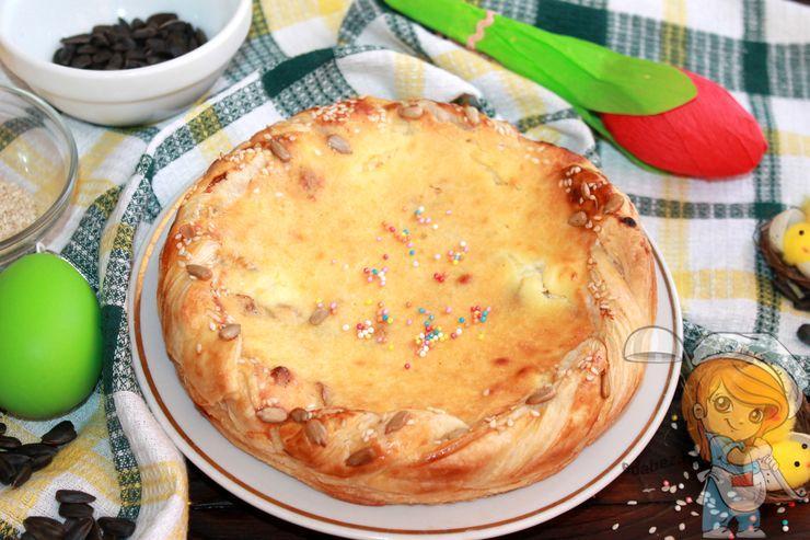 Пирог на пасху - рецепт выпечки