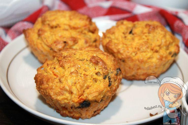 Морковные кексы пп рецепт с фото