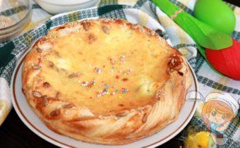 Пасхальный пирог - выпечка на Пасху