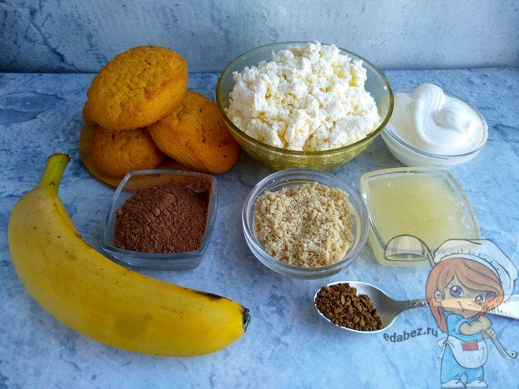 Ингредиенты для шоколадного чизкейка
