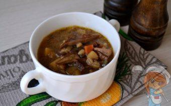 Грибной суп из сушеных грибов - рецепт с фото