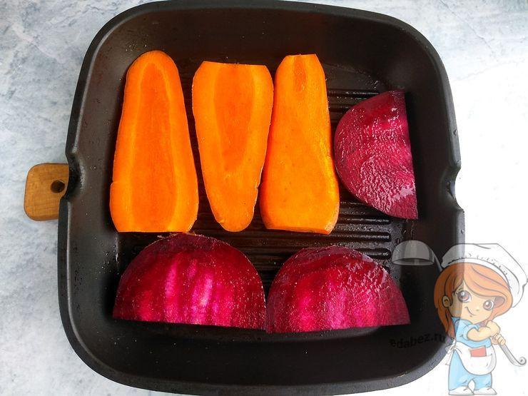 Режем овощи пластинами