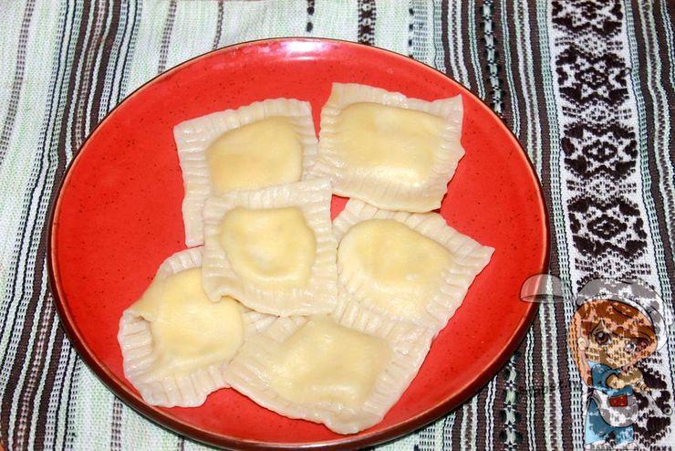 домашние равиоли с сыром