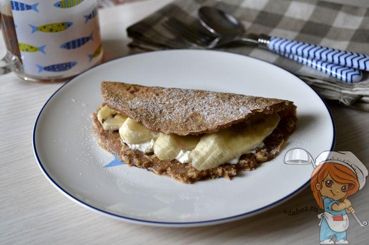 Овсяноблин - быстрый завтрак для ленивых