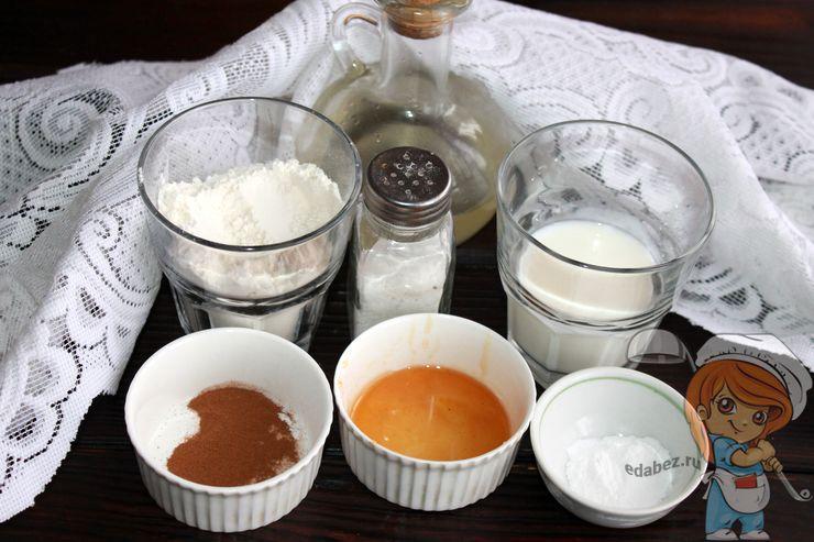 Ингредиенты для оладий