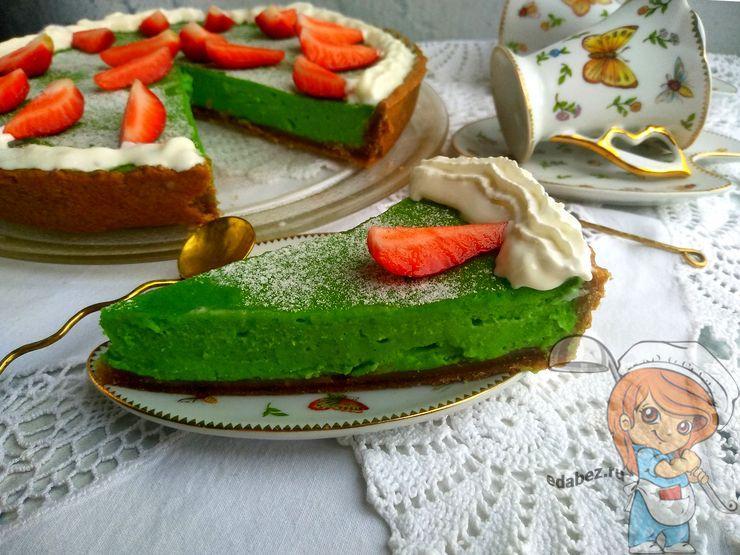 Торт матча, рецепт японского торта
