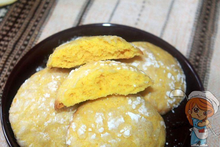 Лимонное печенье, рецепт с фото