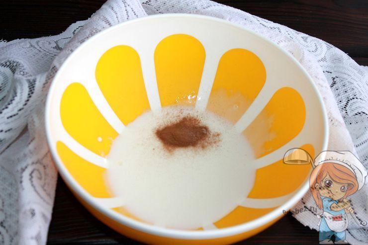 Йогурт с корицей