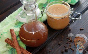 Имбирный сироп - рецепт с фото