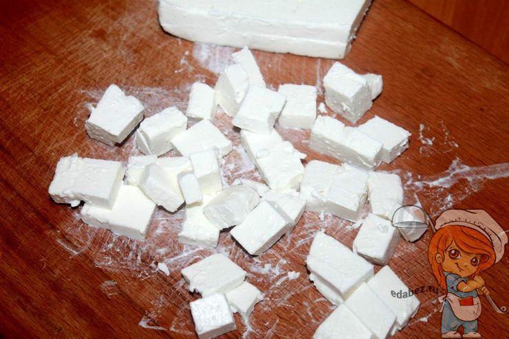 Фета кубиками