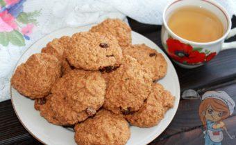 Овсяное печенье без сахара