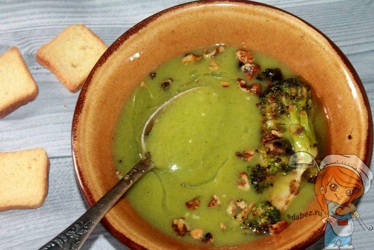 Крем-суп из брокколи, рецепт с фото