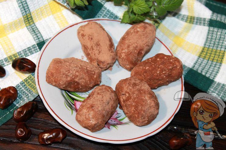 Пирожное картошка без сахара без печенья