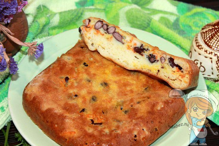 Пирог с фасолью, рецепт с фото