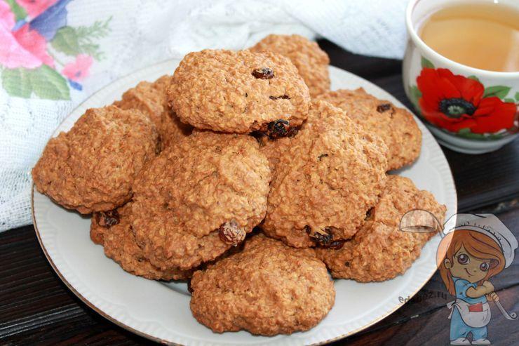 Печенье из овсяных хлопьев - рецепт домашнего печенья