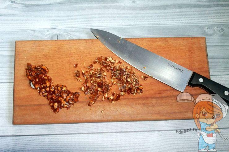 Рубим ножом