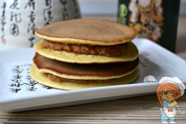 Японский десерт - блины дораяки