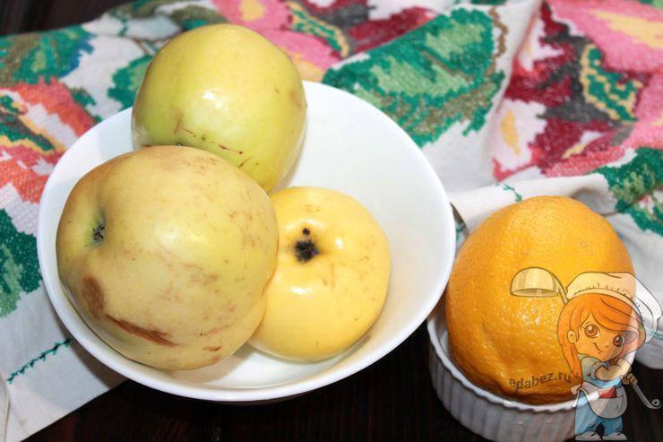 Моем яблоки и лимон