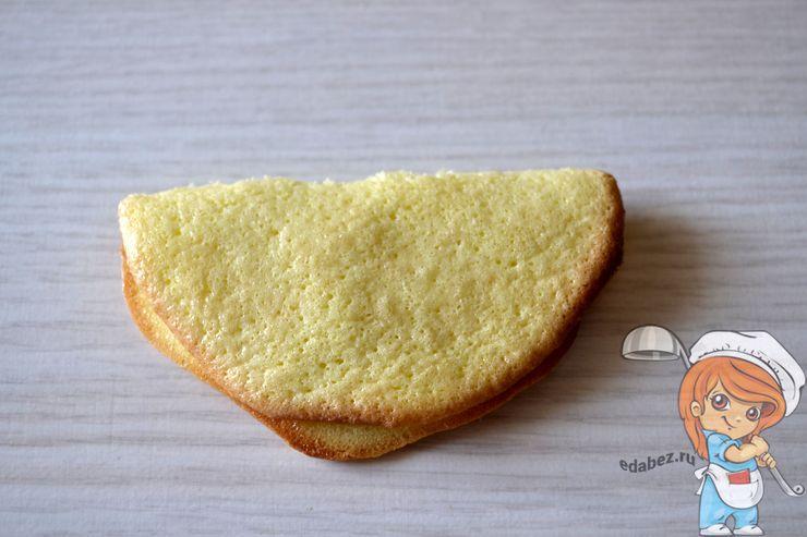 Складываем печенье пополам