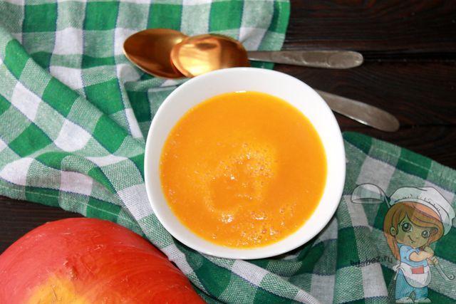 Суп из тыквы от Пелагеи