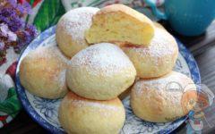 Творожные булочки без дрожжей - как пух