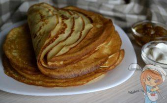 Гурьевские блины, рецепт с фото