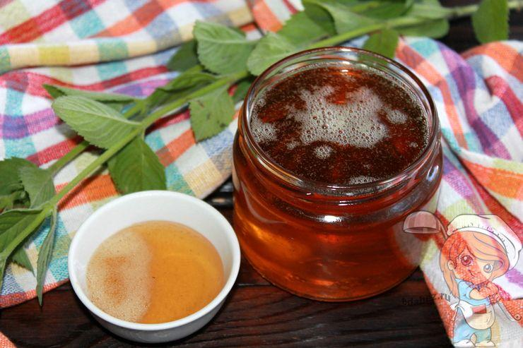 Сироп из мяты на зиму - домашний рецепт