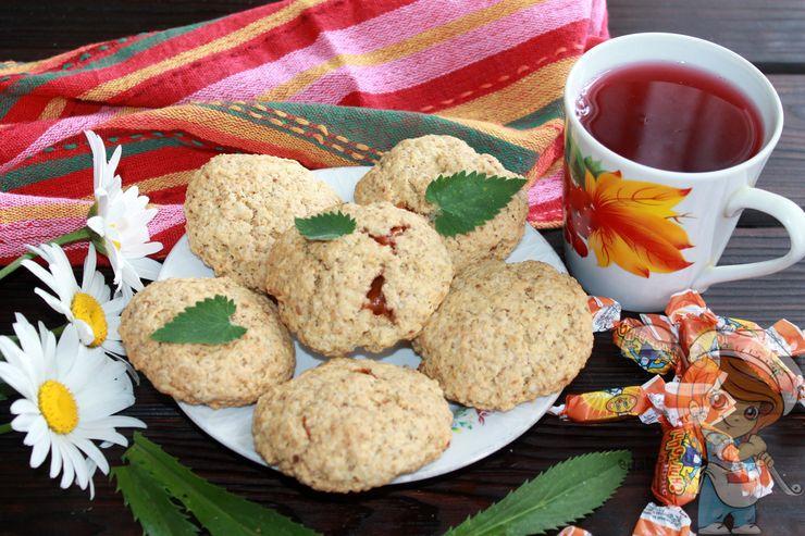 Печенье с карамелью - рецепт с фото