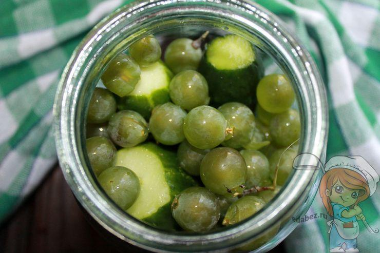 Пустоты заполняем виноградом
