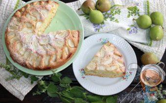 Пирог с грушей - рецепт с фото