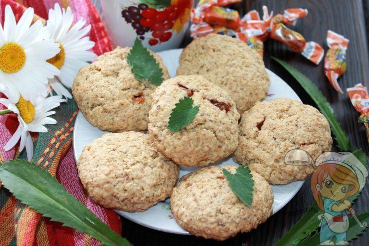 Печенье с карамелью в домашних условиях