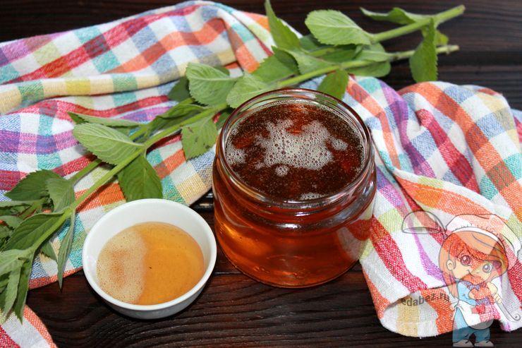 Рецепт как сварить сироп из свежей мяты