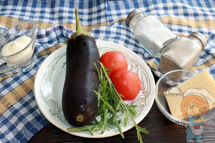 Ингредиенты для запекания баклажанов
