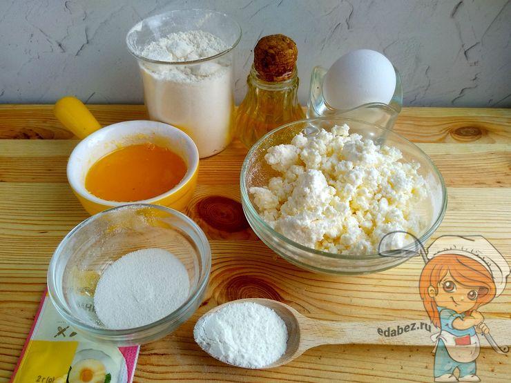 Ингредиенты для пончиков в духовке