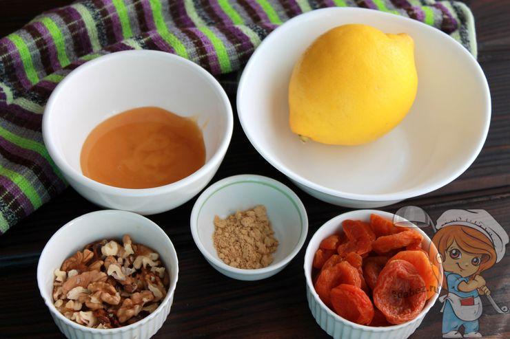 Ингредиенты для приготовления смеси