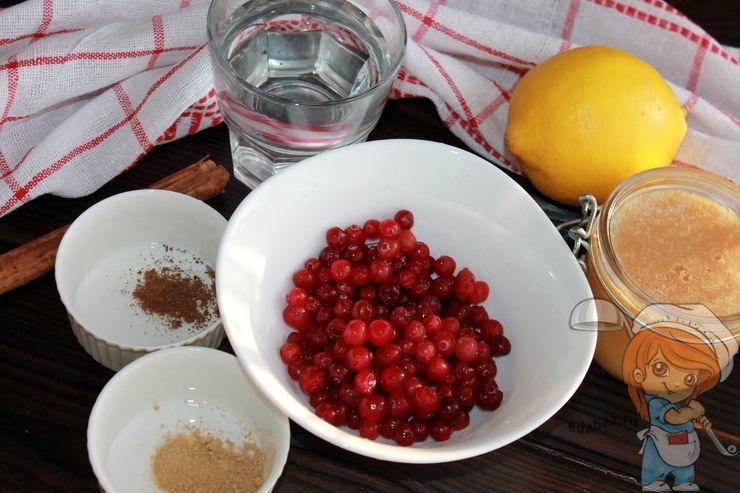 Ингредиенты для имуннитетного напитка