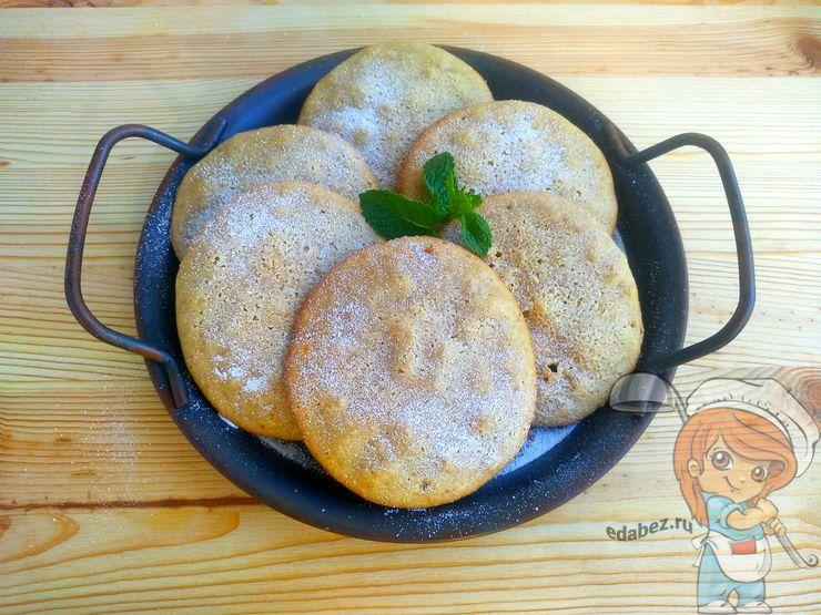 Миндальное печенье без пшеничной муки