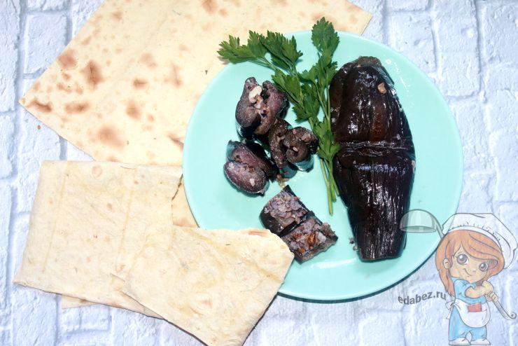 Баклажаны по-грузински - рецепт с фото