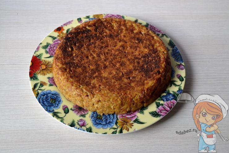 Овсяный пирог на кефире