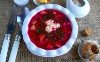 Сырой борщ - рецепт сыроедческого борща