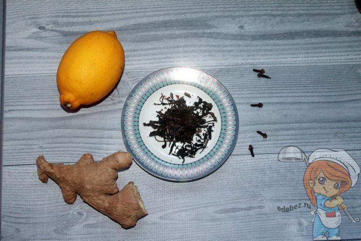 Ингредиенты для чая с гвоздикой