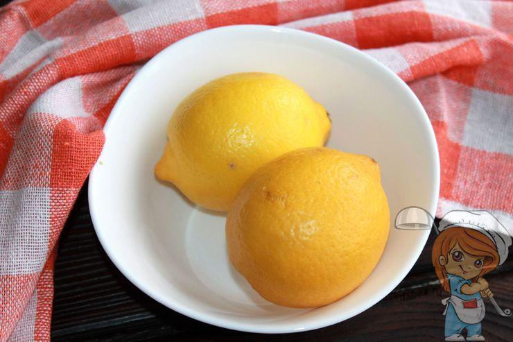 Моем лимоны